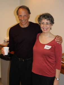Dr. John Rolland and previous fellow Dr. Mary Kellerher